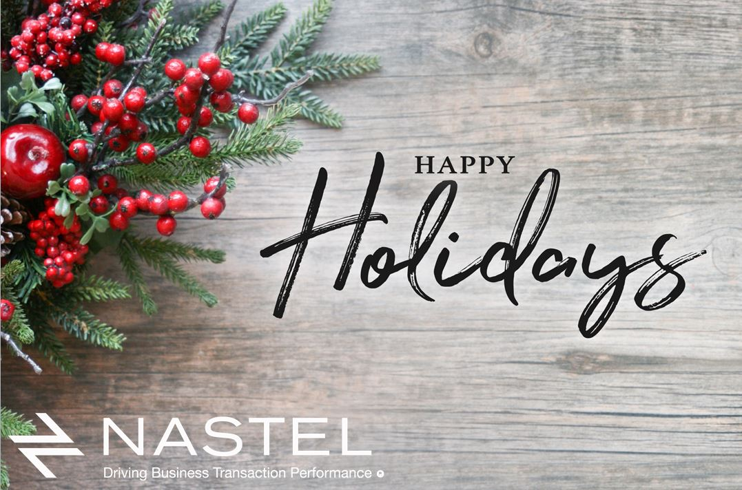 Happy Holidays from Nastel Technologies!