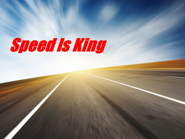 Speed is King in COVID-19 times