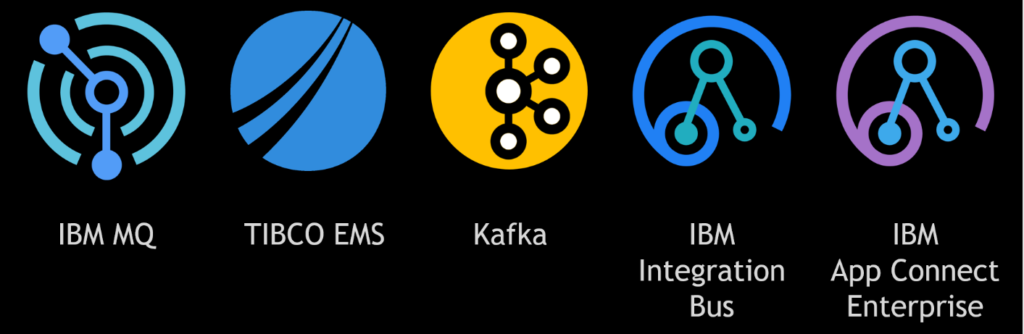 Figure 1: Enterprise-class organizations rely on these 5 products in their Integration Infrastructure (i2)